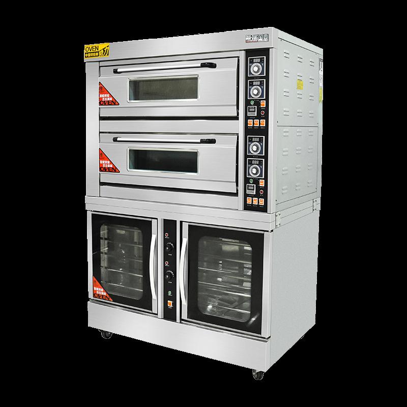 标准版电烘炉2×4+10盘醒发箱
